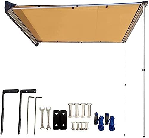 DANCHEL 4WD 車用サイドオーニングテント カーサイドテント サンシェード 日よけ 雨よけ インストールにや...