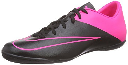 Nike Mercurial Victory V IC Indoor Soccer Shoes Size 11 Black/Pink