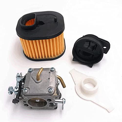 LODCC Filtro de Aire del colector Nuevo carburador RWJ- 4B Kit para Husqvarna 365X TORQ, 372 XP repuestos de Motosierra Está Seguro