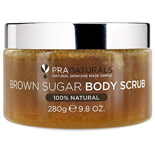 Scopri offerta per PraNaturals Scrub corpo allo zucchero di canna - Scrub esfoliante naturale - Idrata la pelle secca e rimuove delicatamente le cellule morte - 280g