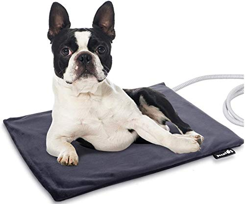 Pecute Pet Heating Pad Low Voltage Safe Electric Heating Pet Mat