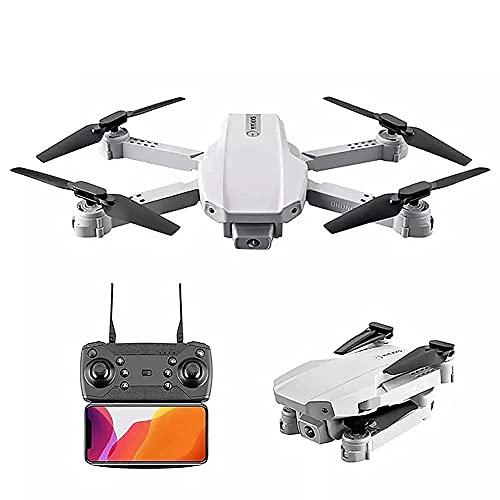 Drone con fotocamera Drone pieghevole con fotocamera per adulti 4K HD FPV Live Video, controllo dei gesti, selfie, mantenimento dell'altitudine, modalità senza testa, flip 3D, quadricottero per bamb