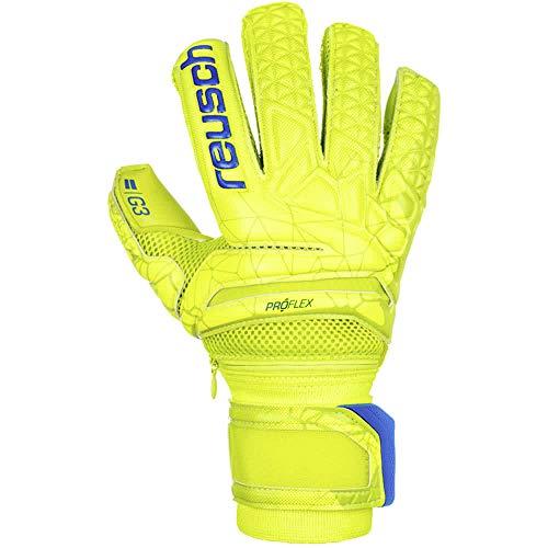 Reusch Herren Fit Control Pro G3 Ortho-Tec Torwarthandschuhe, Lime/Safety Yellow, 7.5