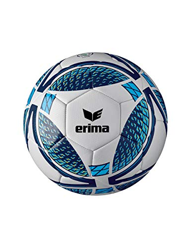 Erima Unisex Erwachsene Senzor Training Fußball, New Navy/Curacao, 3