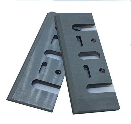 Caja de 2 cuchillas de 8 mm HSS para planchas Makita, Black