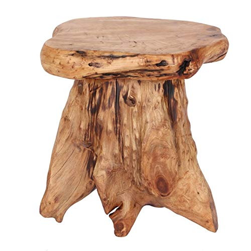 Solid teak root mini stool / table Part of our solid teak root wood range