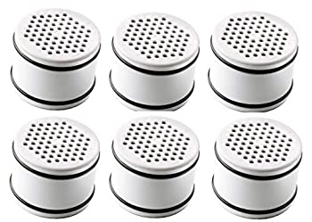 Culligan WTR FiltrationCartridge Certified WHR-140 Replacement Cartridge Filtered Shower Heads White 6 Pack