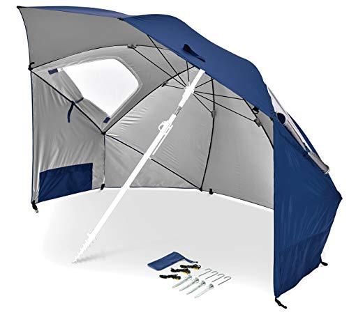 BESTEU Spike Parasol Holder Base Stand Holder Base Stand Holder Ombrello Supporto per ombrelloni da Giardino per Spiaggia e Altro