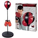 Dash Toyz–Kings Sport de boxeo saco de boxeo para niños 43'con guantes