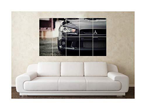 Large Mitsubishi Evo Evolution 6 7 8 9 10 Wall Poster Art Picture Print Christmas Birthday Present Gift