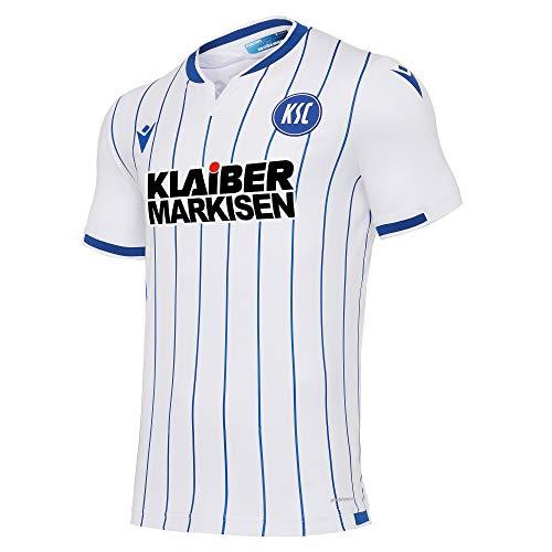 Macron Karlsruher SC Trikot Away 2020/2021 Weiss