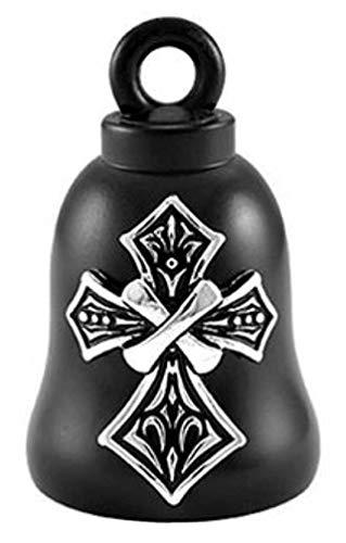 Harley-Davidson Tribal Cross Bar & Shield Ride Bell - Black Finish HRB075