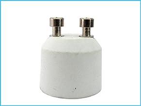 LEDLUX 2 stuks converteradapter lamphoudervoet voor ledlampen (GU10 to MR16 12V)