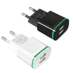 Compatible Devices: European Adapter widely compatible with 11/11 Pro/11 Pro Max/Xs/Xs Max/XR/X 8 7 6S 6 Plus SE 5S 5 4S, Pad Air Mini Pro, Samsung Galaxy S10 S10+ S10e S9 S8 Plus S7 S6 Edge S5 S4, Note 5/4, Tablet, LG, Google, Nexus, Motorola, Sony,...