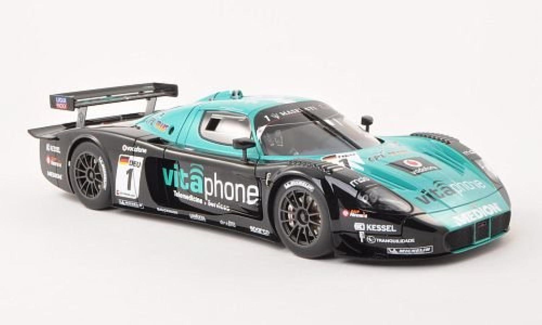 Maserati MC12, No.1, Vitaphone Racing Team, FIA GT1 , 2010, Modellauto, Fertigmodell, AUTOart 1 18