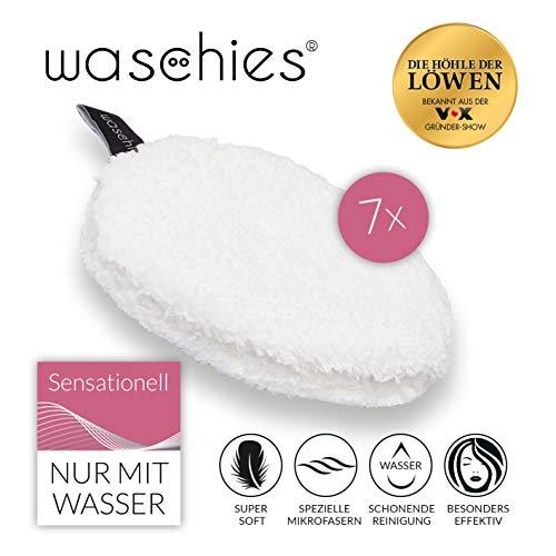 waschies Abschminkpads waschbar | Wiederverwendbare Abschminktücher, Kosmetikpads zur Make-Up...