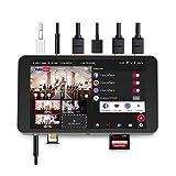 YoloLiv YoloBox Smart Multi-Camera Live Streaming Studio, Encoder Switcher Recorder Monitor Tutto in Uno