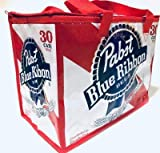 Pabst Blue Ribbon PBR Insulated Beer Tote Cooler Bag | Fits 30pk | NEW
