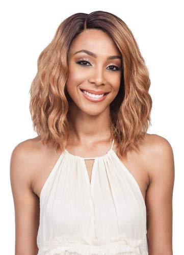 Price comparison product image Bobbi Boss Swiss Premium Lace Front Wig MLF194 GABI (1B)