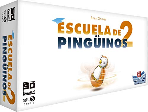SD Games - Juego Escuela De Pinguinos 2