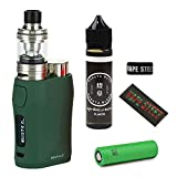 Eleaf istick Pico X with MELO 4 D22 + VTC4 18650バッテリー + HAKATA WAVE リキッド 60ml + オリジナルVAPEバンド + バッテリーラップ VAPE STEEZお得セット(Silver)