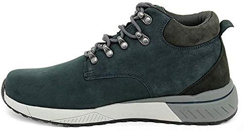 SKECHERS 66394 Morse Zapatos Azul Marino Hombres Mid Classic fit Cordones viscoelásticos