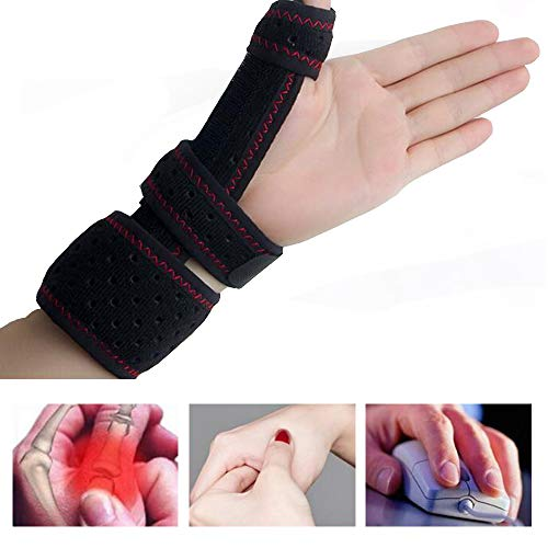 Thumb Splint And Wrist Support Brace - Best For Chronic Rsi & Cts Pain Relief, Arthritis, De Quervain's Tenosynovitis & Carpal Tunnel/Spica Splint, Fits Right And Left Hand