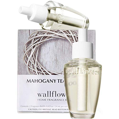 Bath & Body Works Mahogany Teakwood Wallflowers Home Fragrance Refills