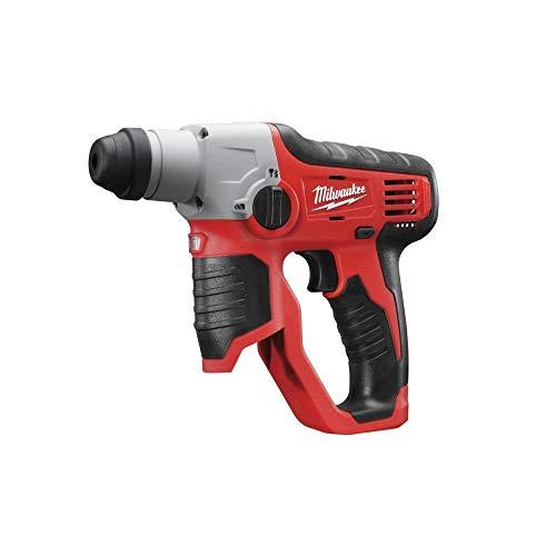 Milwaukee M12 H-0 rotary hammers 800 RPM - Martillo perforador (1,3 cm, 800 RPM, 0,9 J, 8 mm, 1 cm, Negro, Rojo)