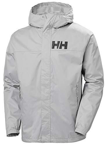Helly Hansen Active 2 Jacke Chaqueta, Hombre, Gris (Grey Fog), S