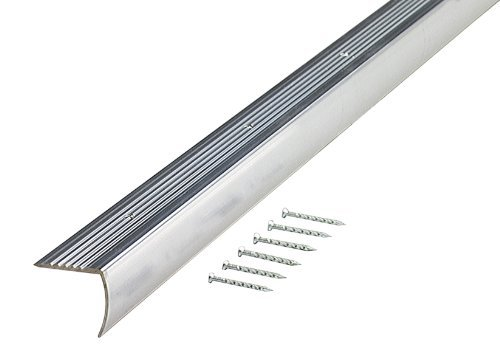 M-D Building Products 66266 1-1/8-Inch by 1-1/8-Inch by 72-Inch Stair Edging Smooth by M-D Building Products
