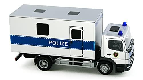 Rietze 72510 – Mercedes-Benz Atego '10 valigia trasporto cavalli di polizia – 1:87