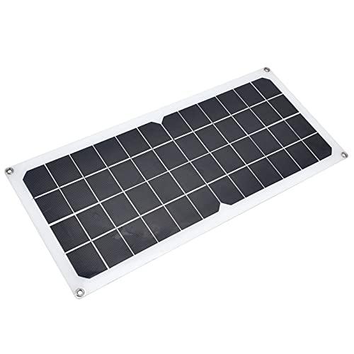 Tablero De Carga Solar, Módulo De Carga Solar De Silicio Monocristalino Panel Solar De 10 Vatios Baja Eficiencia Lumínica Para Ciclismo Al Aire Libre Montañismo Senderismo