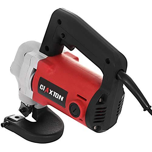 Mophorn elektrische Blechschere 600W elektrische Schere 3,2mm Elektroschere 2000 U/min Blechschere Tools für das Schneiden von Metall (3.2mm)