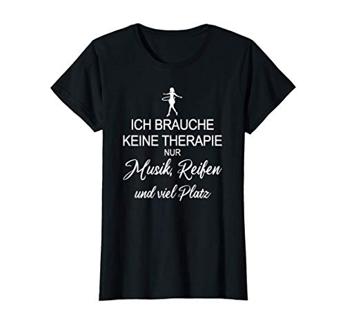 Sport Fitness Tanz Hula Hoop Liebe Ich Muss Nur Hullern T-Shirt
