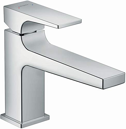 hansgrohe Metropol Modern Low Flow Water Saving 1-Handle 1 6-inch Tall Bathroom Sink Faucet in Chrome, 32505001