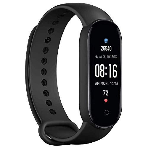 Smartwatch Reloj Inteligente, rastreador de Actividad física con Contador de Pasos de calorías, IP67 a Prueba de Agua, recordatorio por SMS, podómetro de monitorización de frecuencia cardíaca