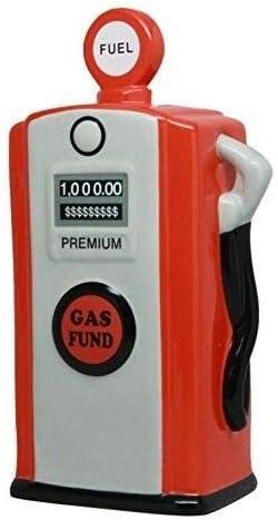 Ceramic Sales for sale Gas Pump Dallas Mall Savings Piggy Money - Red Home Bank DÃcor