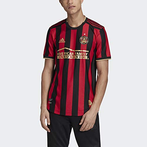 adidas Atlanta United FC Authentic Home Jersey Men's, Red, Size L
