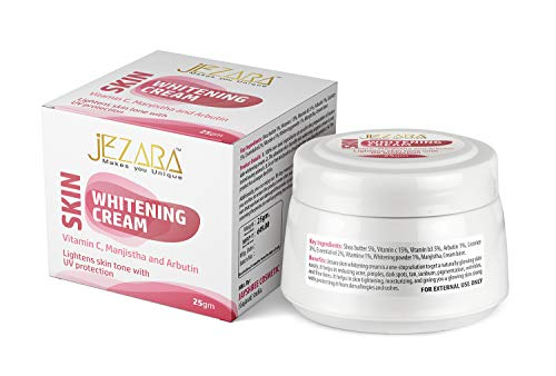 Jejaraa Permanent Skin Whitening Cream with Trial Pack