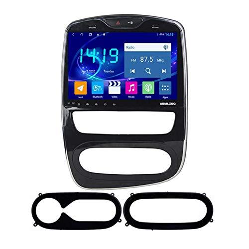 WY-CAR Radio De Coche De 10.1 Pulgadas, Reproductor Multimedia, Navegación GPS para Renault Clio 2012-2016, Estéreo De Audio Android 8.1, Enlace Espejo/FM/RDS/Bluetooth/Cámara Trasera