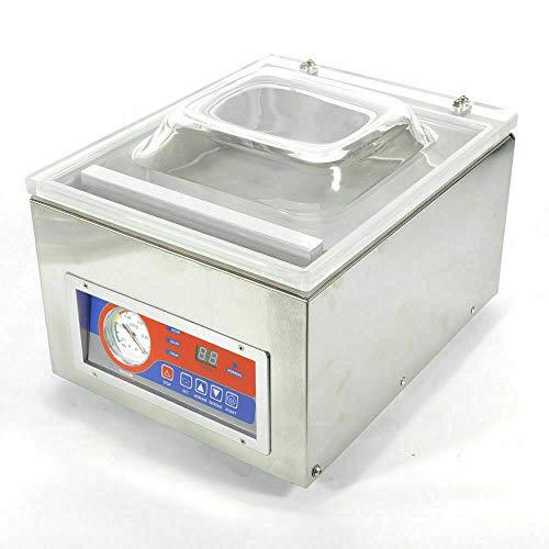 Envasadora al vacío profesional de mesa paquete automático rendimiento embalaje envasadora al vacío mesa máquina de vacío paquete automático