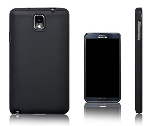 Xcessor Vapour Custodia di TPU Gel Flessibile per Samsung Galaxy Note 3. Nero