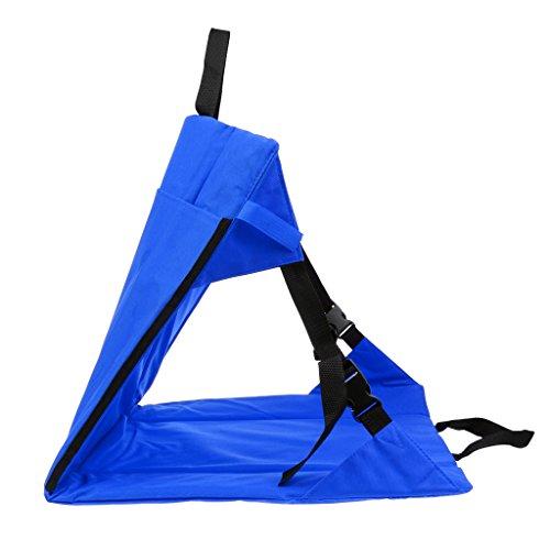 #N/A - Silla plegable para camping o jardín, azul
