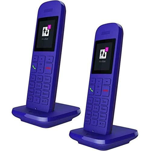Telekom Speedphone 12 Duo Lavendel (Zusätzliches Mobilteil DECT Telefon)