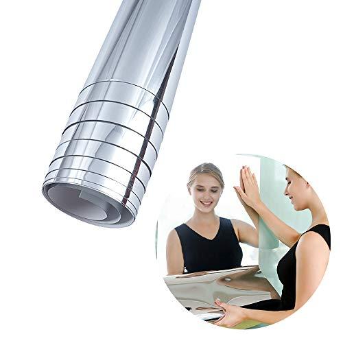 Adhesivos de pared de espejo flexible, suaves, sin cristal, autoadhesivos, impermeables, para casa, sala de estar, dormitorio