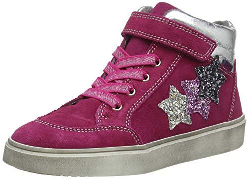 Richter Kinderschuhe Mädchen Ryana Hohe Sneaker, Pink (Lampo/Silver/Can/Ste 7701), 25 EU