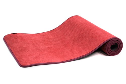 Yogistar Yogamatte Light - rutschfest - Rouge