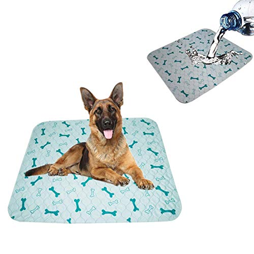 lffopt Traversine Cani Tappetini Igienici per Cani Coperta per Cani Impermeabile Pad di Allenamento Tappetino per Cani Impermeabile Cat Mat 16 * 24inch