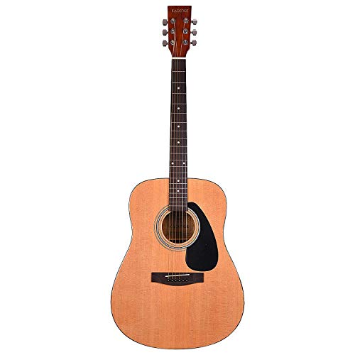 "Kadence A311, 41"" Jumbo Size 6-strings Acoustic Guitar, Natural"